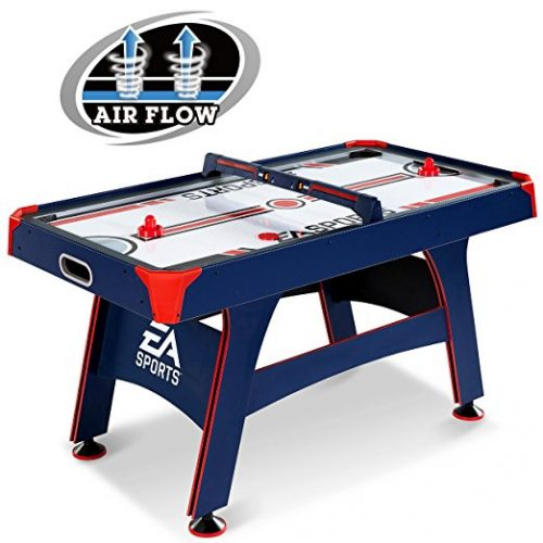 EA Sports 60 Inch Air Powered Hockey Table with Overhead Electronic Scorer - Air Hockey Tables