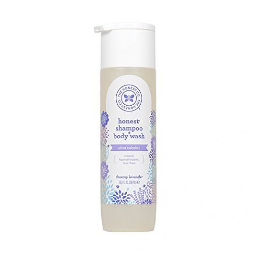 Honest Calming Lavender Hypoallergenic Shampoo and Body Wash with Naturally Derived Botanicals, Dreamy Lavender, 10 Fluid Ounce - Baby Shampoos