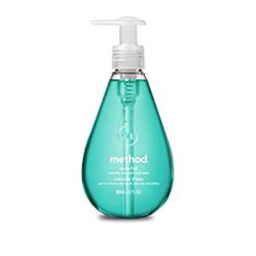Method Gel Hand Soap, Waterfall, 12 Ounce (Pack 6) - Hand Soaps