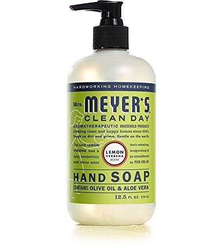 Mrs. Meyer´s Clean Day Hand Soap, Lemon Verbena, 12.5 fl oz - Hand Soaps