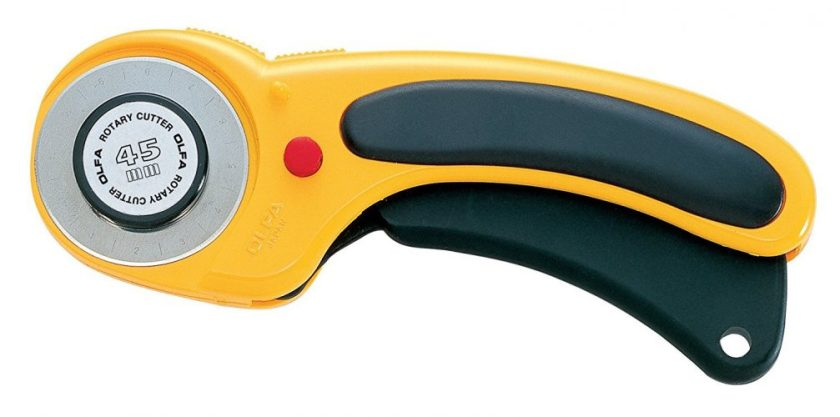 Olfa 45mm Deluxe Handle Rotary Cutter - Fabric Cutters
