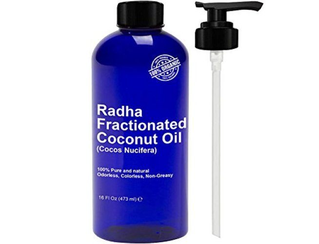 Radha Beauty Fractionated Coconut Oil - Coconut Oil Products