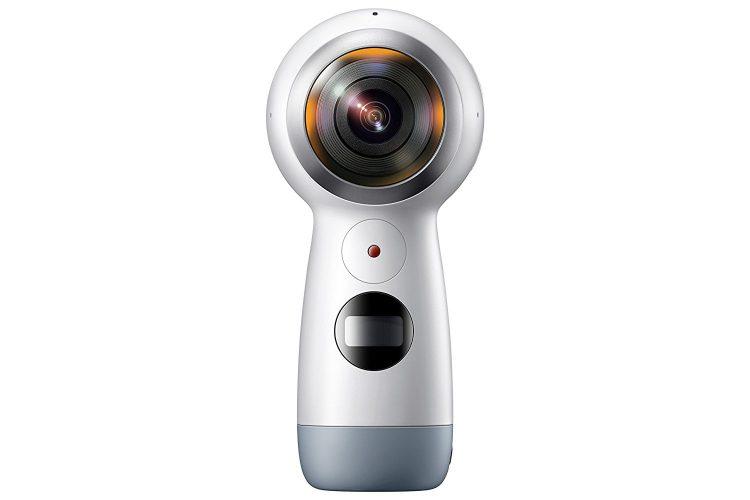 Samsung Gear 360 (2017 Edition) Real 360° 4K VR Camera (US Version with Warranty) - 360-Degree Camera