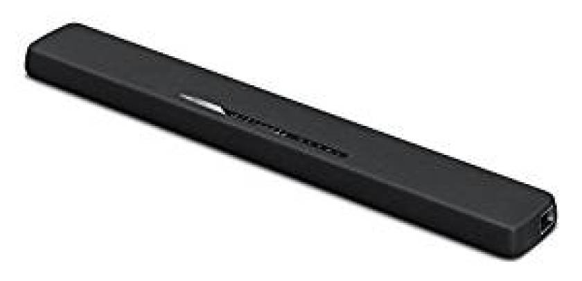 Yamaha YAS-107BL Sound Bar with Dual Built-In Subwoofers & Bluetooth Black - Bluetooth Soundbars