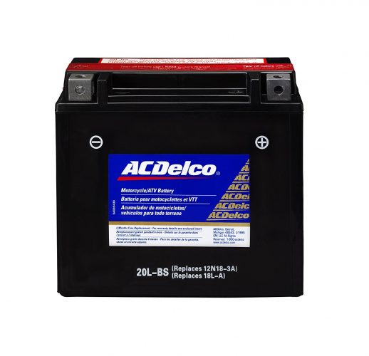 ACDelco ATX20LBS Specialty AGM Powersports JIS 20L-BS Battery - Car Battery