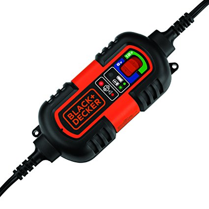 BLACK+DECKER BM3B 6V and 12V Automatic Battery Charger / Maintainer - Battery Tenders
