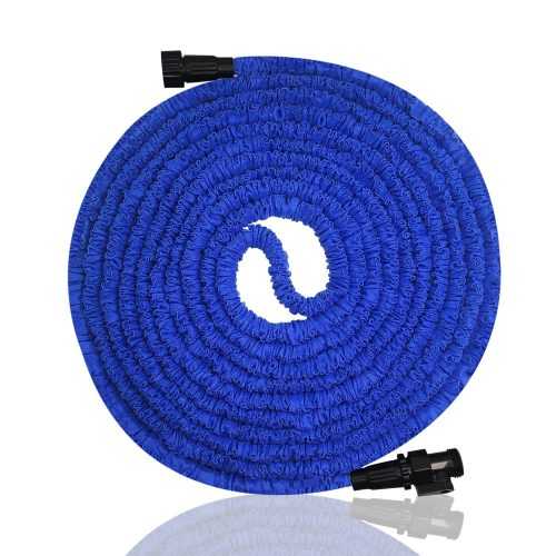 Garden Hose, Expandable Garden Hose, 50ft Expanding Garden Hose Lightweight Durable Heavy Duty Flexible Pressure Washer Water Hose for Car Wash Cleaning Watering Lawn Garden Plants - Garden Hoses