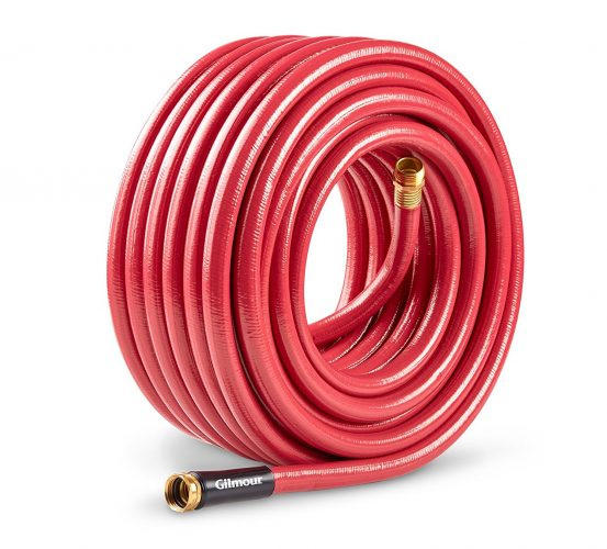 Gilmour 29 Series 6 Ply Farm Hose 5/8 Inch x 90 Feet 29-58090 Red - Garden Hoses