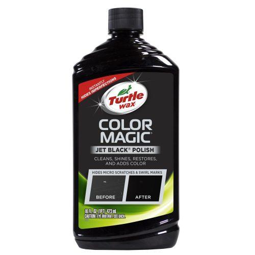 Turtle Wax T-374KTR Color Magic Car Polish, Black - 16 oz.- Owing car scratch removers
