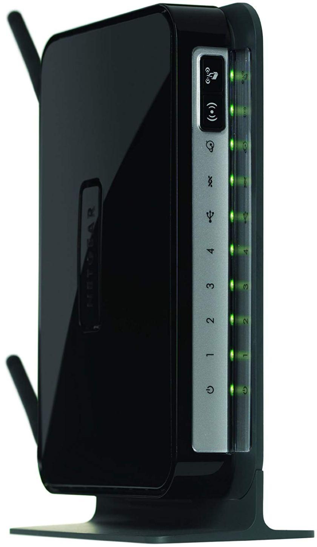 NETGEAR DGN2200 Wireless Router - IEEE 802.11n (draft)