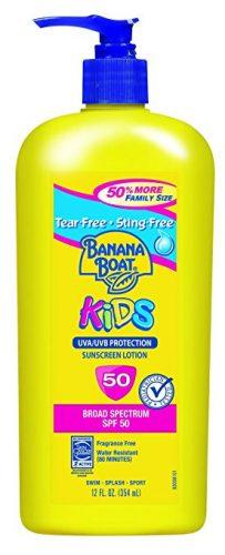 Banana Boat Sunscreen Kids Family Size Broad Spectrum Sun Care Sunscreen Lotion - SPF 50, 12 Ounce - Sunscreen For Kids