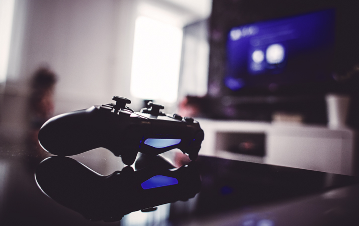 Gaming projectors