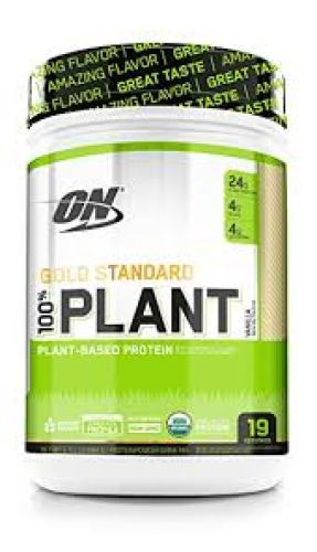 Optimum Nutrition Gold Standard 100% Organic Plant-Based Vegan Protein Powder, Complete Amino Acid Profile, Vanilla, 1.51 Pound - Organic Protein Powders