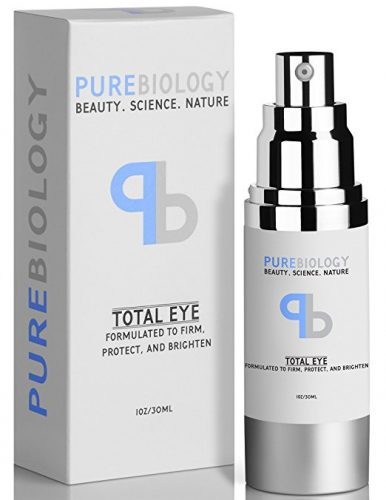 """Pure Biology """"Total Eye"""" Anti Aging Eye Cream Infused with Instant Lift Technology & Baobab Fruit Extract - Instant Firming & Long-Term Reduction in Wrinkles, Bags & Dark Circles (1 oz.) - Eye Creams For Women"""