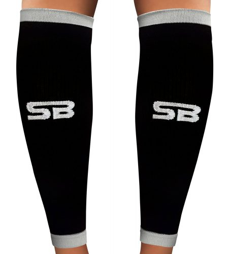 SB SOX Compression Calf Sleeves [20-30mmHg for Men and Women] - Compression Leg Sleeves