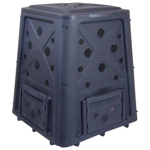 Lifetime 60058 Compost Tumbler, Black, 80-Gallon - Composting Bins