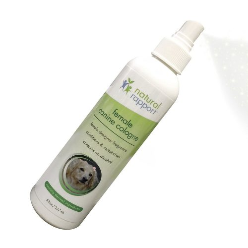 Natural Dog Cologne Spray - 3-in-1 Natural Deodorizer Spritz for Dogs - Also Moisturizes and Softens Coat - Designer Fragrance No Alcohol - 8 fl oz. - Dog Deodorants