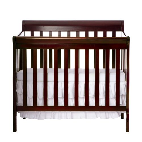 Dream On Me 4 in 1 Aden Convertible Mini Crib, Espresso