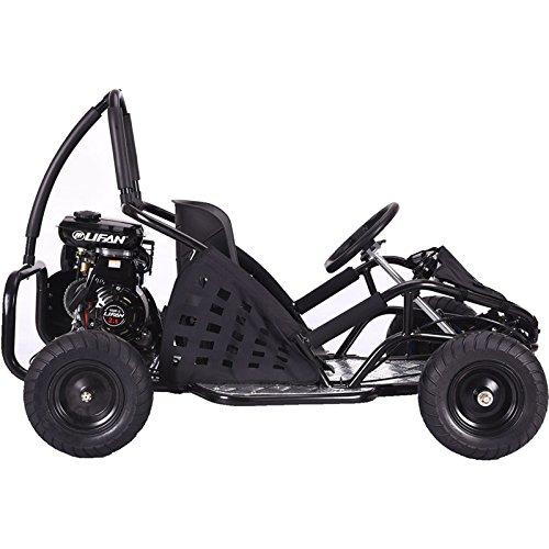MotoTec MT-GK-05 Black Off Road Go Kart - 79Cc - Off Road Go Karts