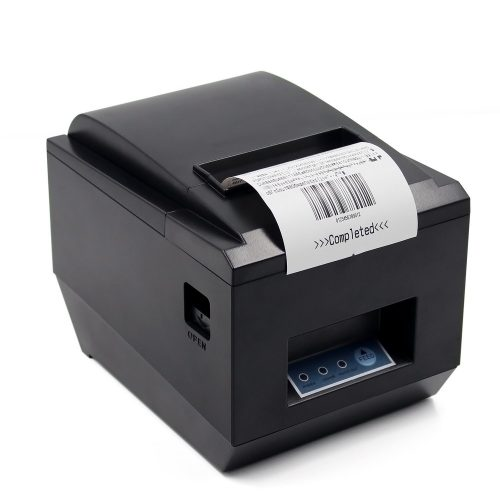 Symcode POS Thermal Receipt Printer Ethernet/LAN, Serial Port - Auto Cutter - Cash Drawer Port - Paper Width 3 1/8 (80mm) - Works on Windows XP/Vista/7/8/8.1/10 Uses