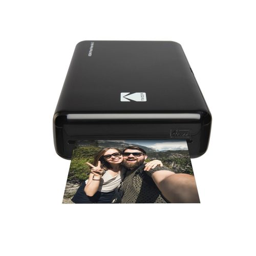 Kodak Mini 2 HD Wireless Mobile Instant Photo Printer w/4PASS Patented Printing Technology (White) – Compatible w/iOS & Android Devices - Real Ink in an Instant