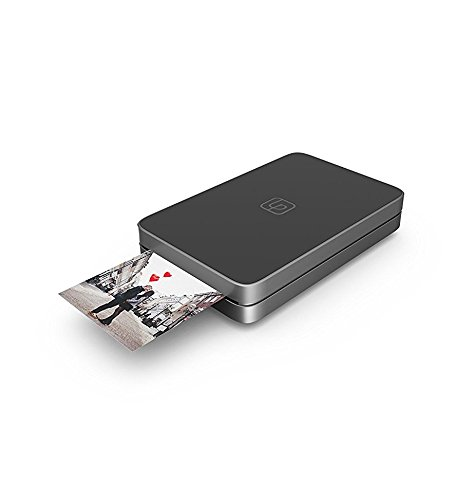 Lifeprint 2x3 Portable Photo AND Video Printer for iPhone and Android. Make Your Photos Come To Life w/ Augmented Reality – Red