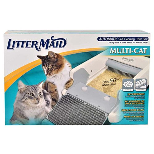 LitterMaid Multi-Cat Automatic Self-Cleaning Litter Box - Cat Self-Cleaning Litter Boxes
