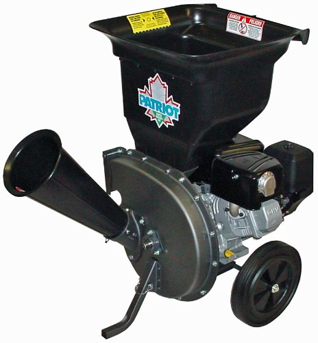 Patriot Products Wood Chipper/Leaf Shredder CSV-3100B - wood chippers