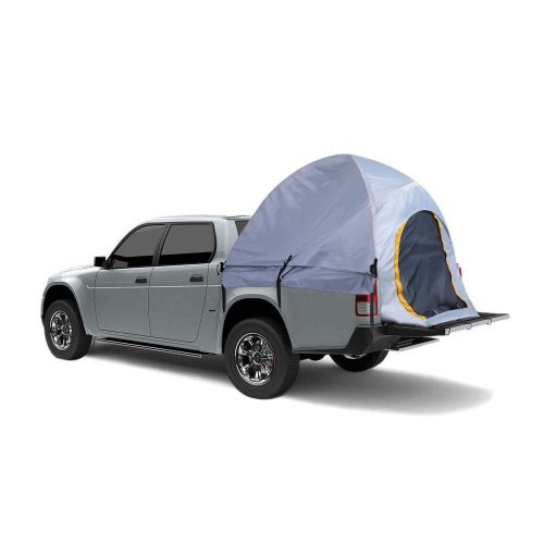 Leoneva Portable Outdoor Full Size Short Bed 5.5ft/Standard Bed 6.5ft Truck Tent with Carrying Bag for Camping, Hiking, Travel, Fishing(US Stock, Gray)