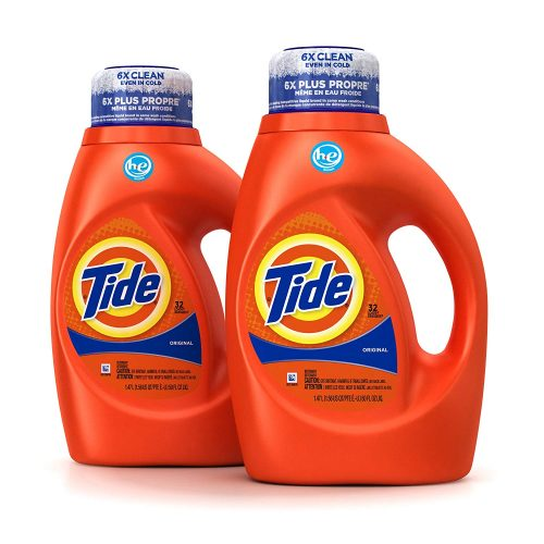 Tide Original Scent He Turbo Clean Liquid Laundry Detergents