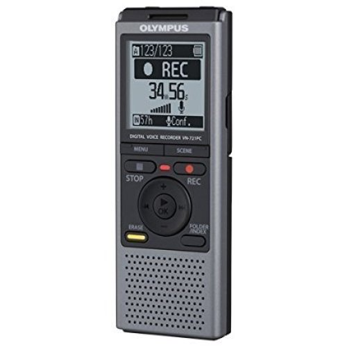 Olympus VN721PC 2GB Digital Voice Recorder - Portable Digital Voice Recorders