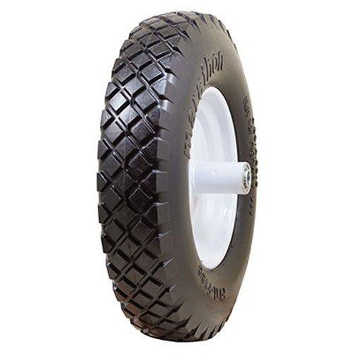 The AMES Companies, Inc True Temper 8-Inch Flat Free Solid Wheelbarrow Tire FFTCC - Wheelbarrow Wheels