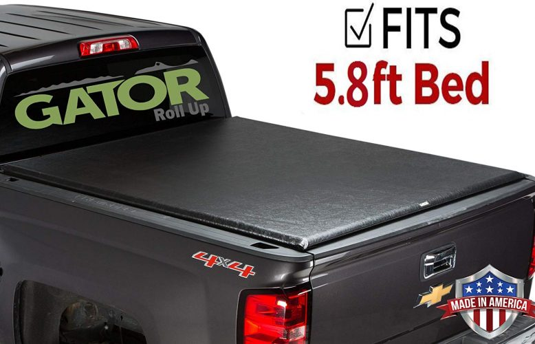Gator Roll Up Tonneau Truck Bed Cover 2014-2019 Chevy Silverado GMC Sierra 5.8 ft Bed - Truck Bed Covers
