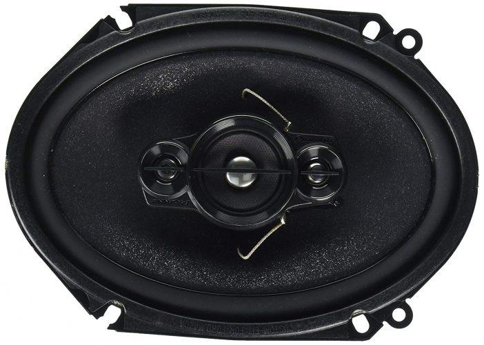"Pioneer TS-A6886R 6"" x 8"" 4-Way Speaker, Set of 1"