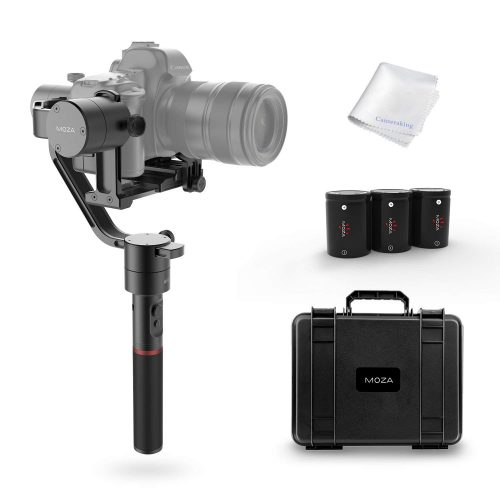 MOZA Air 3-Axis Handheld Gimbal Camera Stabilizer+Dual Handle Set For Mirrorless Cameras and most DSLRs,Sony A7SII,Panasonic GH5,Canon EOS 5D Mark IV,BMPCC,Support Cameras Weights between 1.1Lb-7Lb