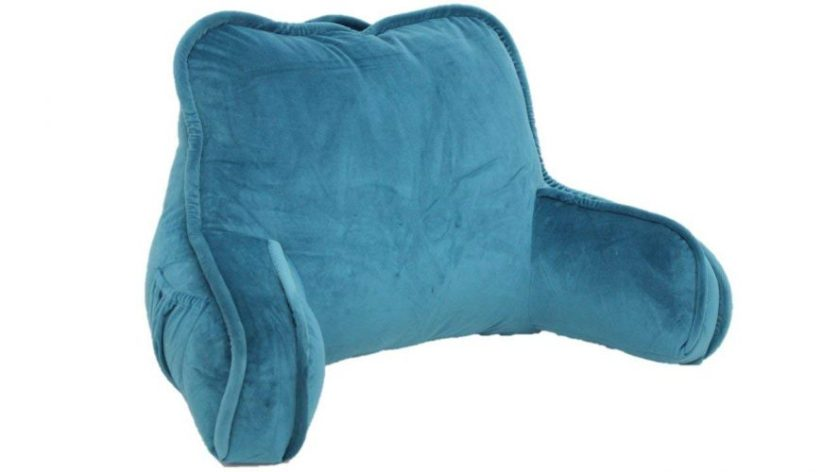 Brentwood Originals 2136 Plush Bed Rest, Teal - Rest Pillows