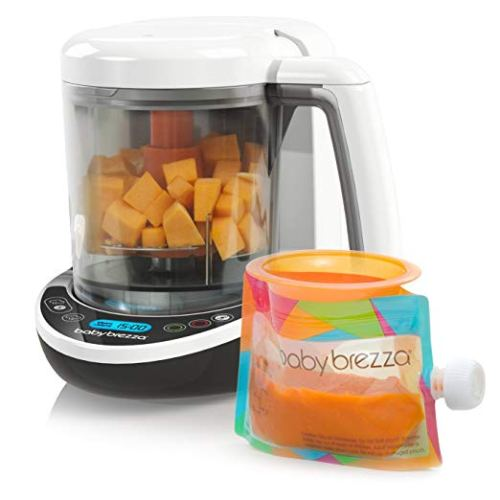 Baby Brezza Small Baby Food Maker Set - Baby Food Makers