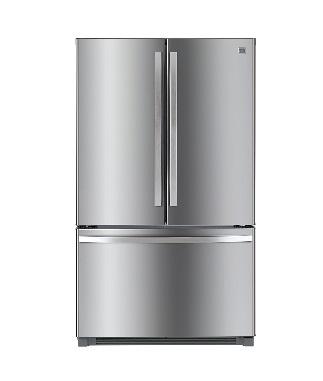 Kenmore 73025 26.1 Cu. Ft Stainless Steel French Door Refrigerator