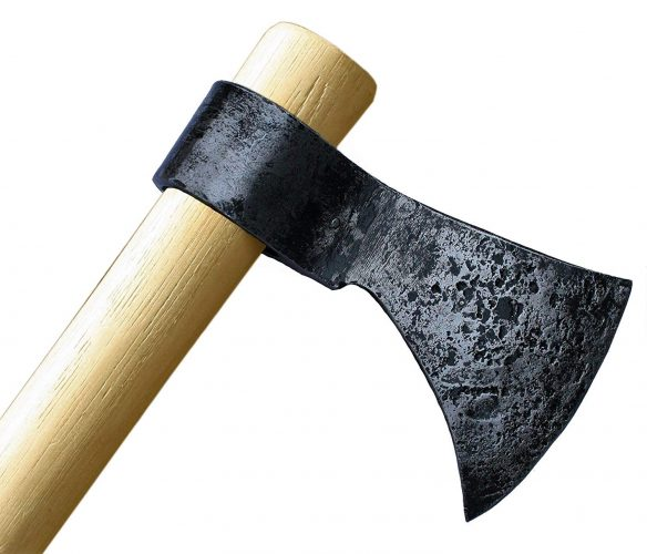 """Throwing Axe - Win Your Next Viking Throwing Tomahawk Competition! 19"""" Hand Forged Hatchet From High Carbon Steel, NMLRA Approved, 100% Guaranteed From Defects"""