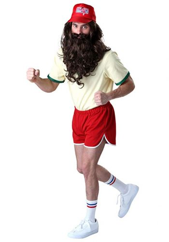 Forrest Gump Running Costume Set with Wig/Beard