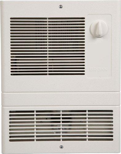 Broan 9815WH High Capacity Wall Heater with 1500 Watt Fan - wall mounted electric heaters