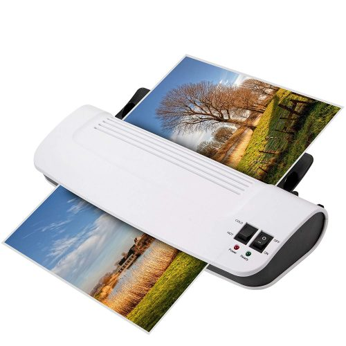 "Zoomyo 9"" hot & cold laminator Z9-5 warms up in just 3 to 5 minutes - laminating machines"