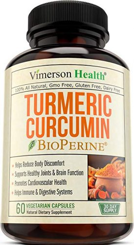 Turmeric Curcumin with BioPerine - Joint Supplements