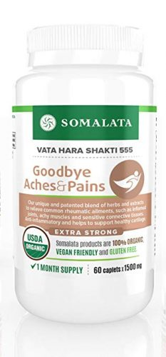 Goodbye Aches & Pains - Joint and Muscle Anti-inflammatory Supplement - Joint Supplements