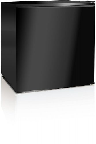 Midea WHS-52FB1 Compact Reversible Single Door Upright Freezer, 1.1 Cubic Feet, Black