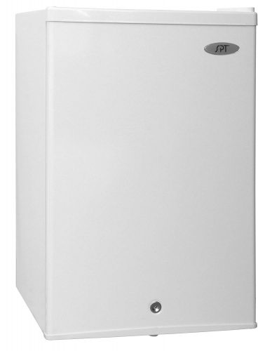 SPT UF-214W Upright Freezer, 2.1 Cubic Feet, Energy Star, White