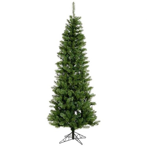 Vickerman 55' Unlit Salem Pencil Pine Artificial Christmas tree - Artificial Christmas Trees