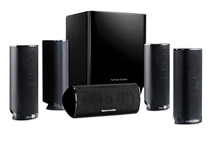 Harman Kardon HKTS 16BQ 5.1 Channel Home Theater Speaker - 5.1 Channel Speakers