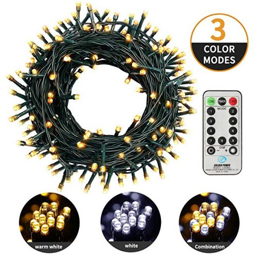 MZD8391 82FT 200 LED Christmas Lights Outdoor Waterproof Dimmable String Lights - Christmas LED Wire Lights