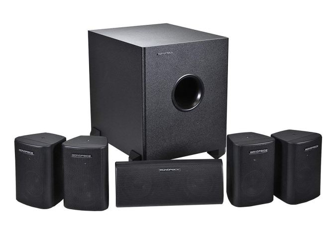 Monoprice 108247 5.1-Channel Home Theater Speaker